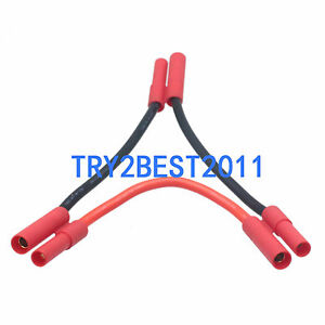 hxt 4mm harness for 2 lipo battery series rc car plane boat 12 rh ebay com Solar Panels Wiring in Series RV Batteries in Parallel Wiring