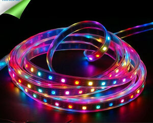 WS2812B-IC-5050-SMD-RGB-led-strip-Light-Waterproof-Individually-Addressable-DC5V