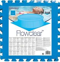 8 x NEW BESTWAY SWIMMING PADDLING POOL FLOOR PROTECTOR COVER MAT 20 x 20 INCH