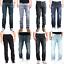 Nudie-Herren-Regular-Straight-Fit-Jeans-Hose-B-Ware-Neu-Blau-Schwarz Indexbild 1