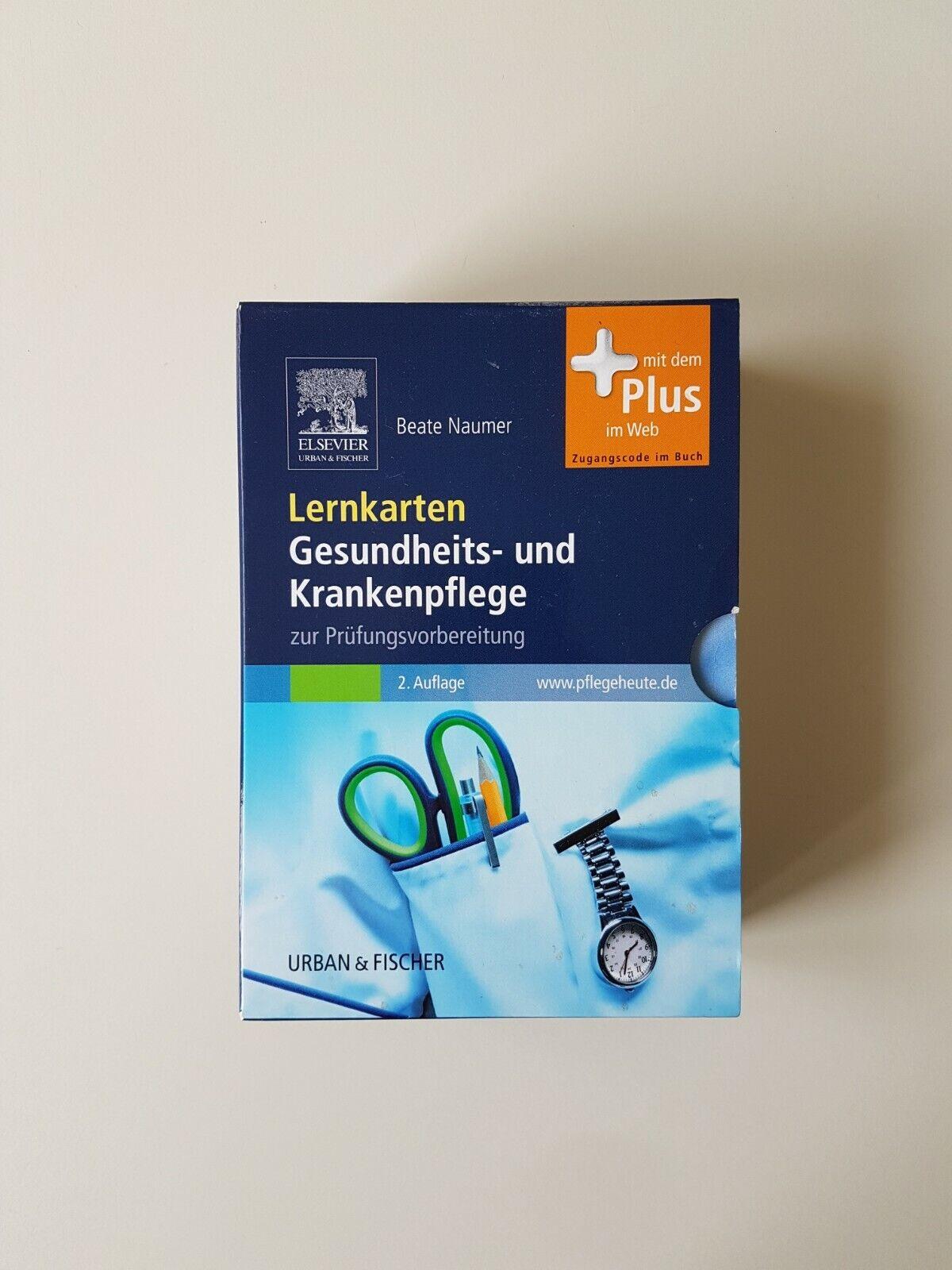 Lernkarten Gesundheits- und Krankenpflege (2010, Box) - Beate Naumer