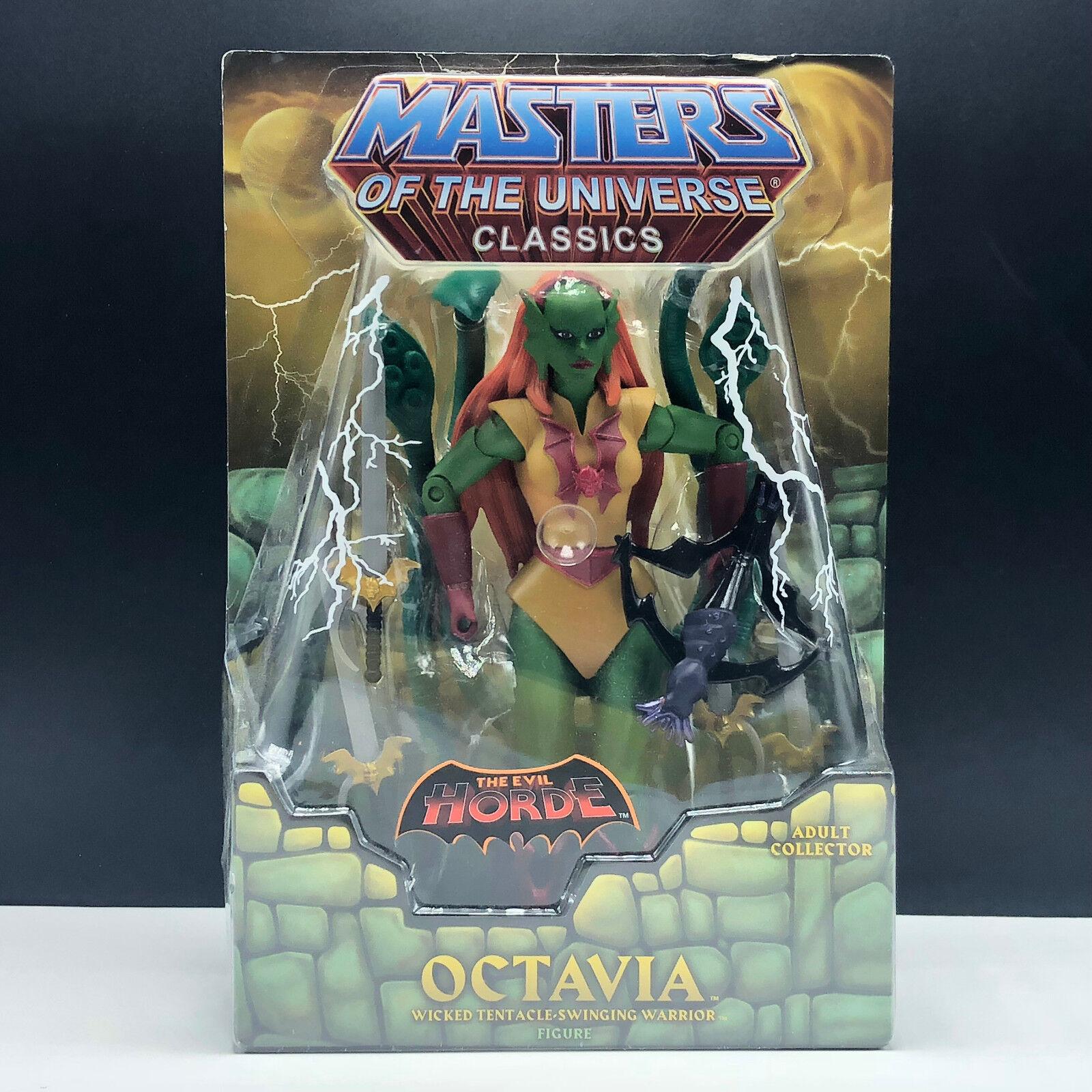 Meister des universums mann klassiker - actionfigur mattel moc octavia horde