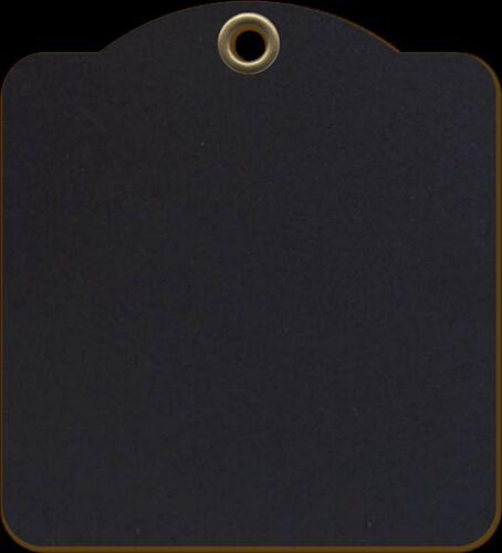 TAGS scrapbooking 4501283 Graphic45 Staples 9 BLACK SQUARE TAG ALBUM