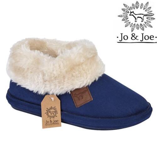 Ladies Slippers Womens Fairisle Ankle Tartan Winter Warm Fur Boots Booties Size