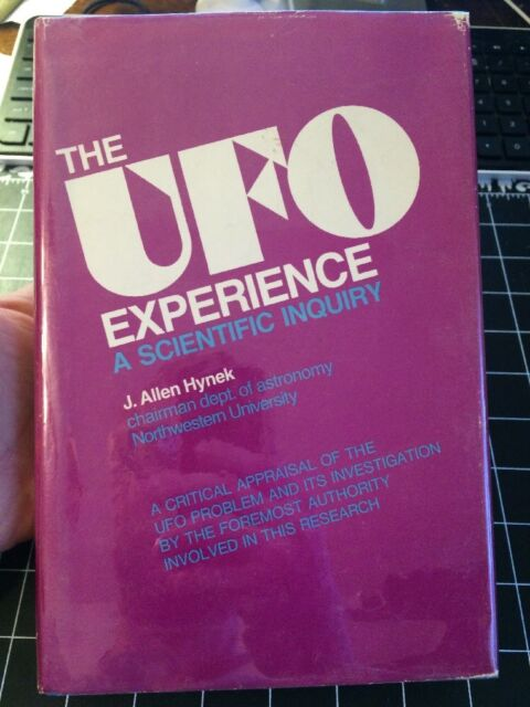 The UFO Experience By J. Allen Hynek Signed!!! 3rd Print