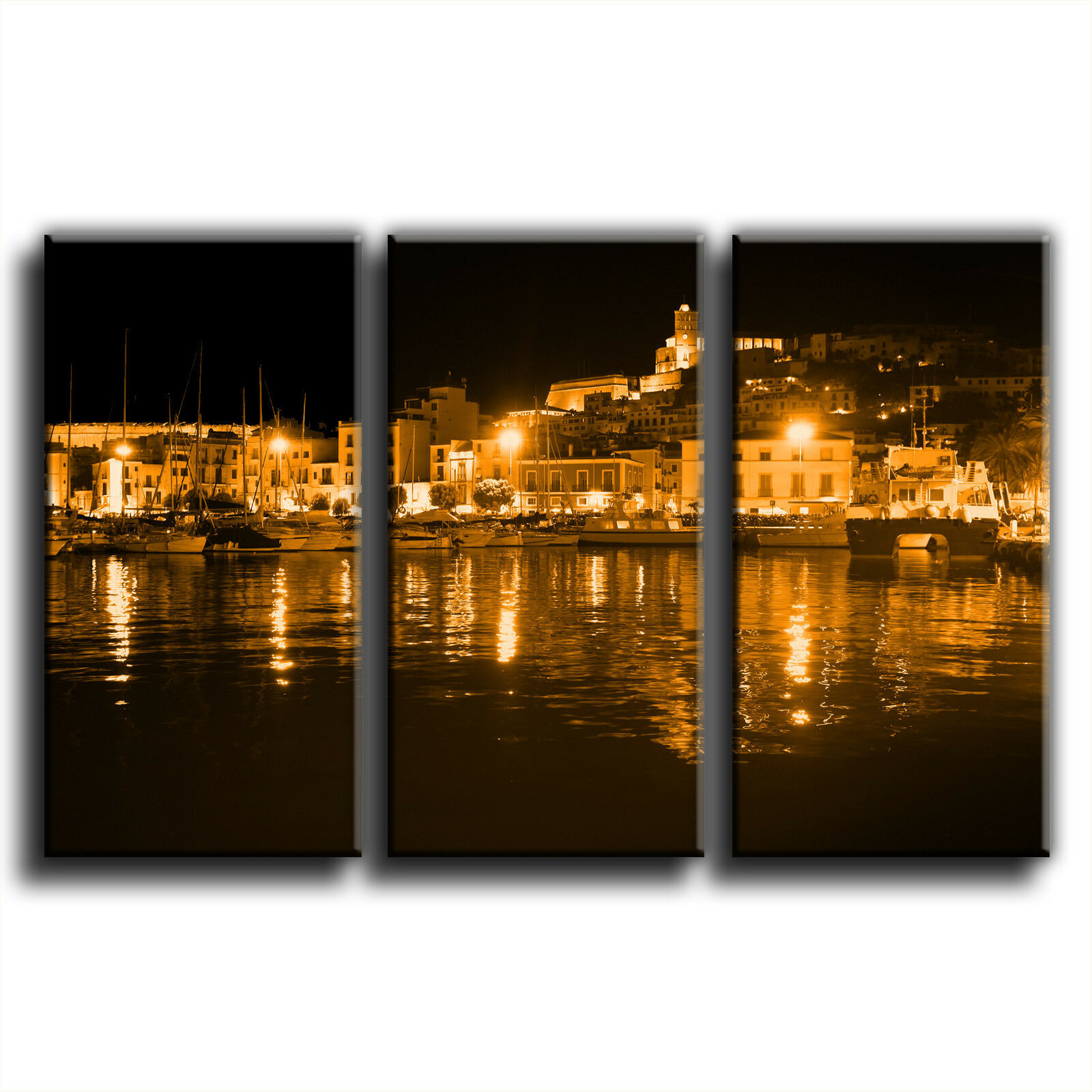 Ibiza toile paysage treble toile Ibiza murale art photo print 1 737615