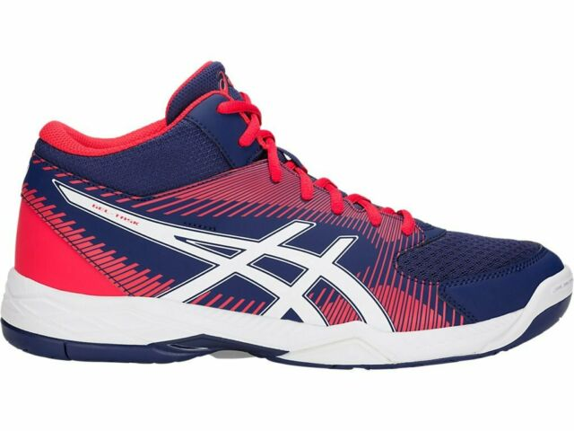 Asics Gel Task MT Blue Orange Men Volleyball Shoes B703Y 400
