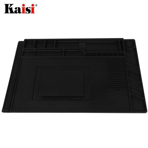 NEW ESD Soldering Mat With Magnetic Silicone Work Mat Heat-resistant BGA