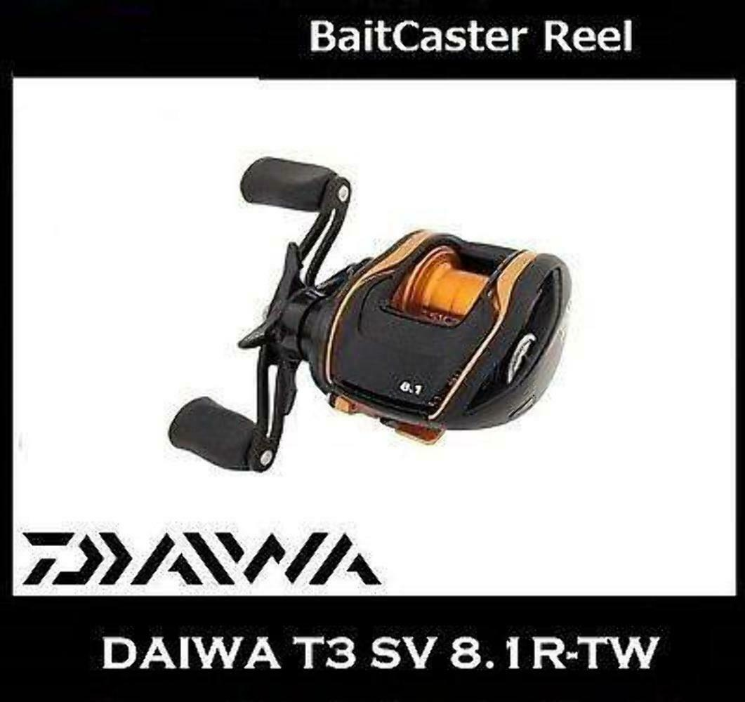 DAIWA T3 SV 8.1R-TW Right Handle BaitCaster Reel
