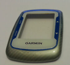 Garmin Edge 500 Front Case  Replacement Part White With Blue See Picture