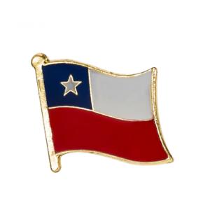 CHILE-FLAG-Enamel-Pin-Badge-Lapel-Brooch-Fashion-Gift-PN65