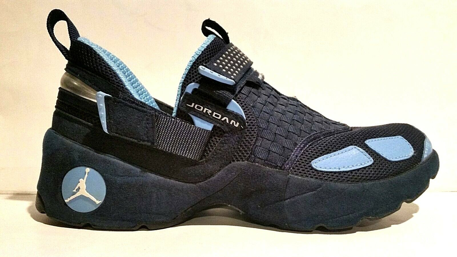 RARE 2006 JORDAN TRUNNER LX PREMIER 10.5 OBSIDIAN COLUMBIA BLUE WHITE 313321-411 Comfortable and good-looking