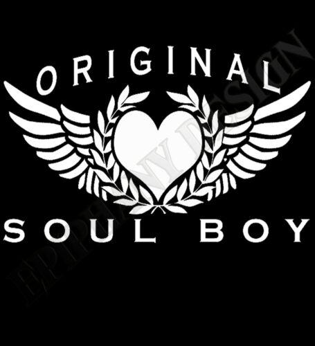 Alma Boy de Superdry de manga larga Northern Soul Motown de R/&B 70/'s 80/'s 60/'s Regalo Único
