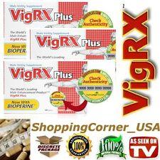 5 Pack VIGRX Plus Male Enhancement Enlargement Package Vig Rx Package