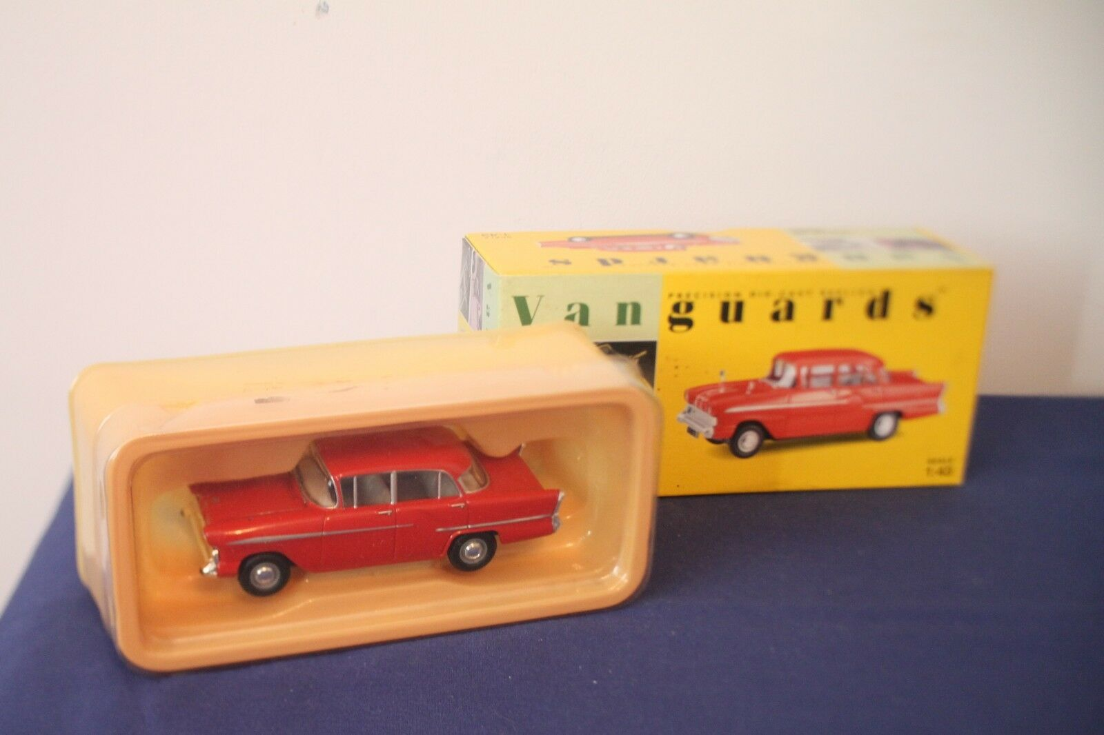 Vanguards Model Vehicles all Boxed in Good Condition