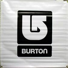 BURTON snowboard 2009 UNINC SQUARE banner BLACK ~NEW old stock~!!
