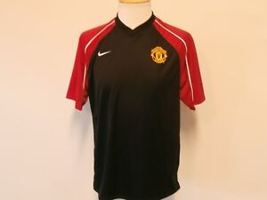 b926b6ac45a Image is loading MANCHESTER-UNITED-ENGLISH-PREMIER-LEAGUE-BLACK-amp-RED-