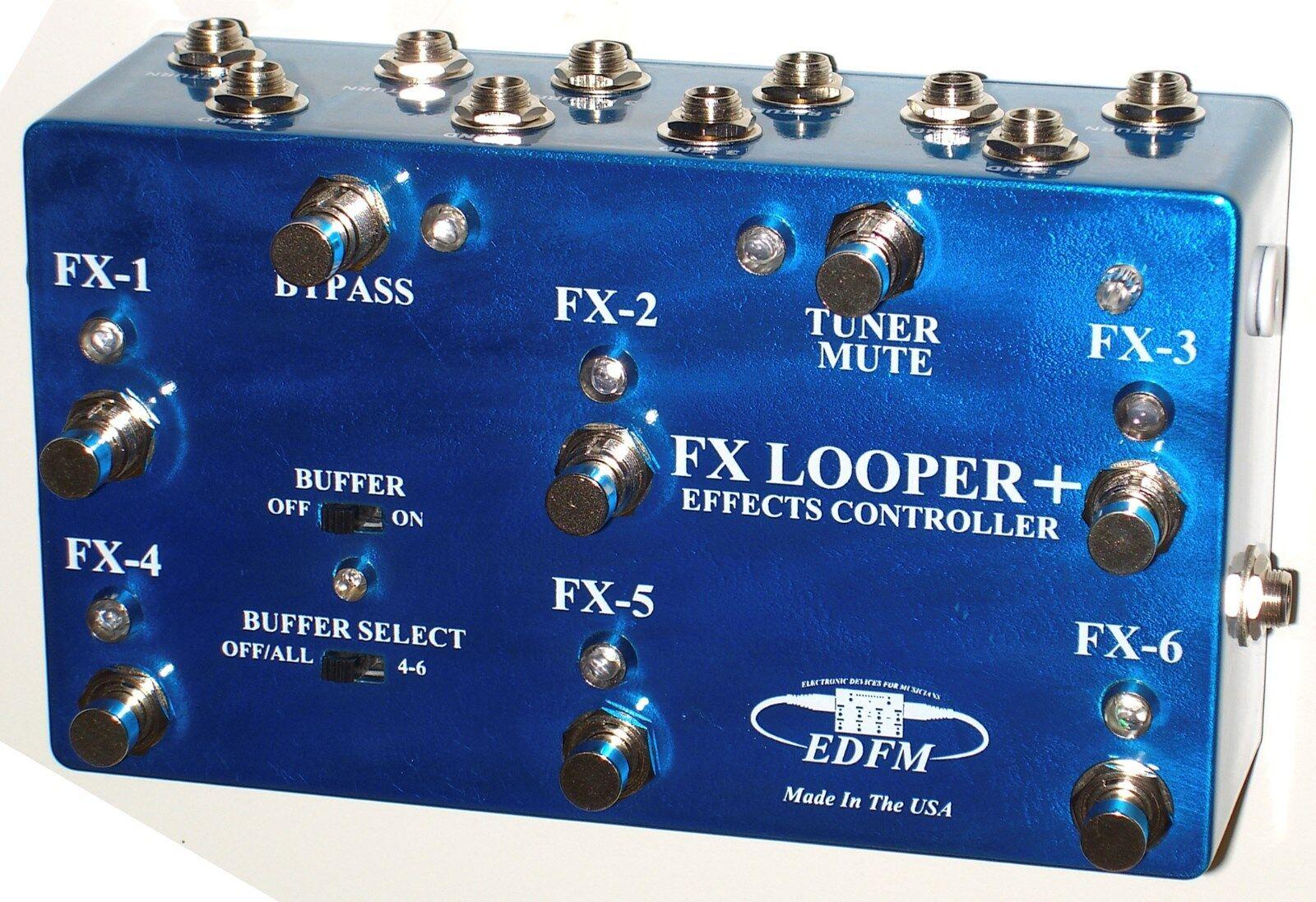 LOOPER EDFM - FX LOOPER + EFFECTS CONTROLLER