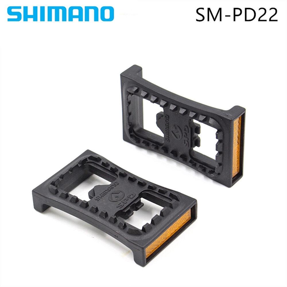 2PCS Fit bike SM-PD22 SPD Cleat Pedal For M520 M540 M780 M980 Clipless Pedals Se