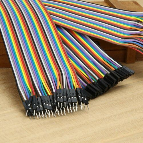 120Pcs 30cm Good Male to Female Dupont Wire Jumper Cable for Arduino Breadboard