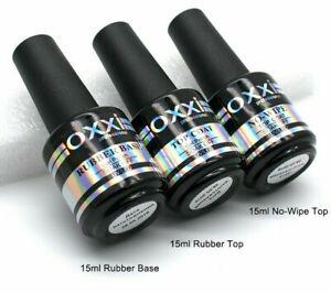 15ml-Rubber-Base-Gel-Varnish-UV-Led-Nail-Polish-Base-Top-Coat-Set-Semi-Permanent