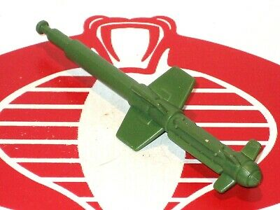 GI Joe Playset Headquarters HQ Small Green Missile Bomb 1992 Original Part