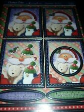 Hunkydory Crafts Cuddly Christmas Penguin Cuddles Topper Set