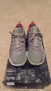 official photos b6d2a 0b65c Details about Men's Nike Lebron James XIV Low Basketball Shoes - Size 9.5  -Gray/Red