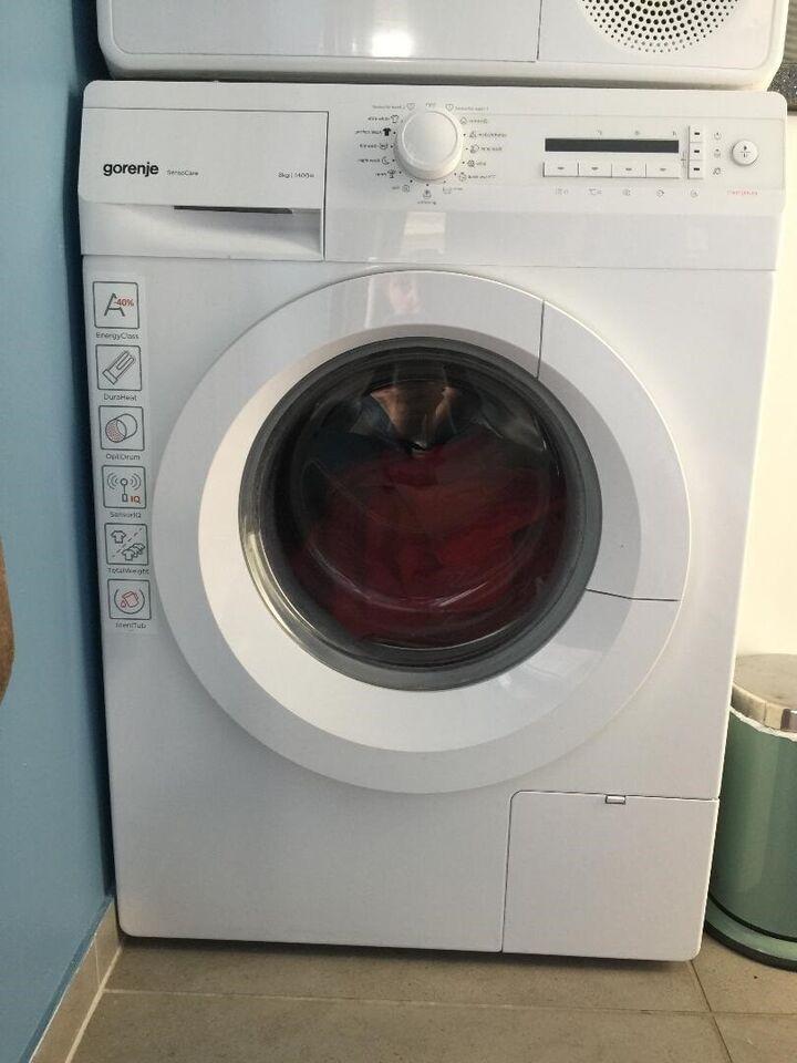 Vaskemaskin og tørretumbler