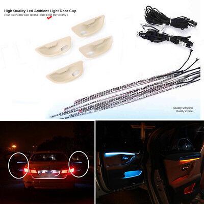 Blue/&Orange LED Adjustable Car Door Decor Light Atmosphere Lamp For BMW F10//F11