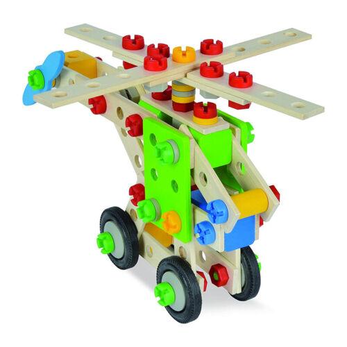 """Eichhorn 39053 CONSTRUCTOR /""""hélicoptère/"""" 120 pièces forêtestonienne encadré NOUVEAU #"""