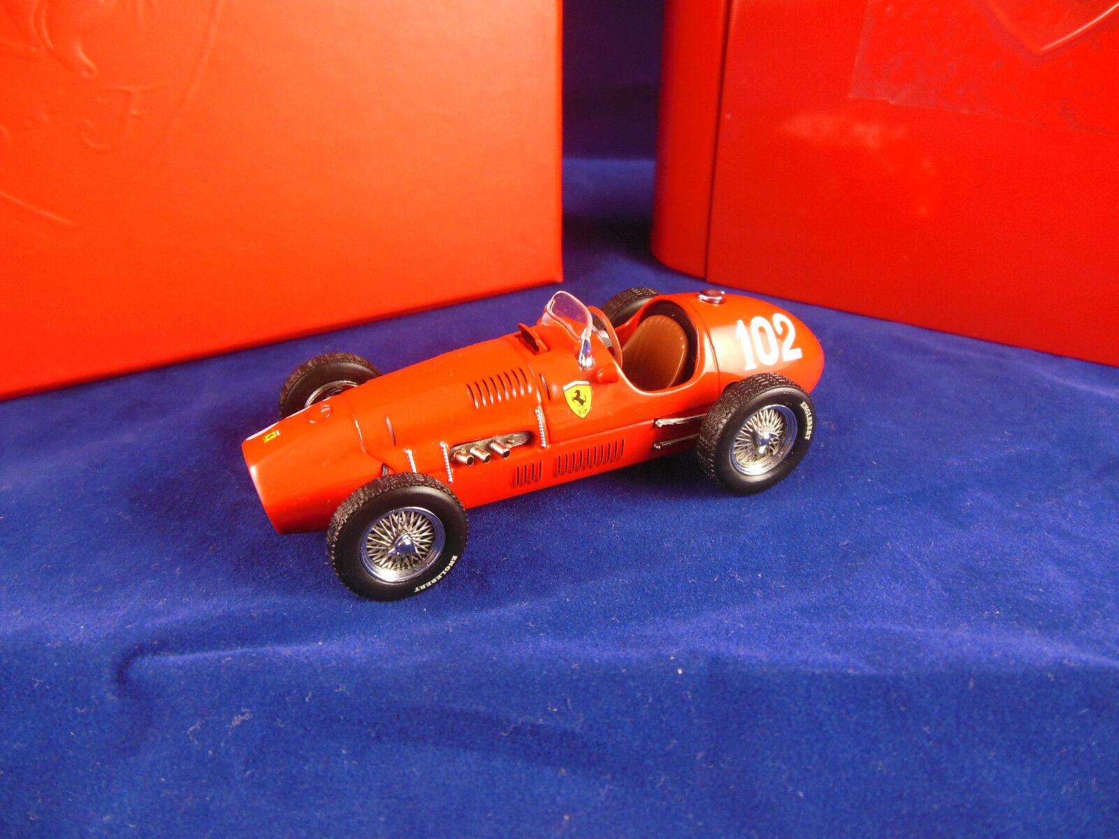 suministro directo de los fabricantes Muy raras Hotwheels Mattel SF11 52 52 52 Ferrari 500 F2  102 Ganador GP 1952 alemana  tienda de pescado para la venta