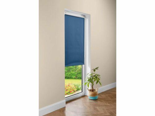 Meradiso ® Thermal Darkening Blind 80 x 200cm Roller Doors /& Window White Blue New