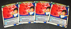 4x Planet Vegeta BT3-105 UC Dragon Ball Super TCG NEAR MINT
