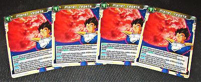 4x Planet Vegeta BT3-105 UC Dragon Ball Super TCG NEAR MINT kaartspellen