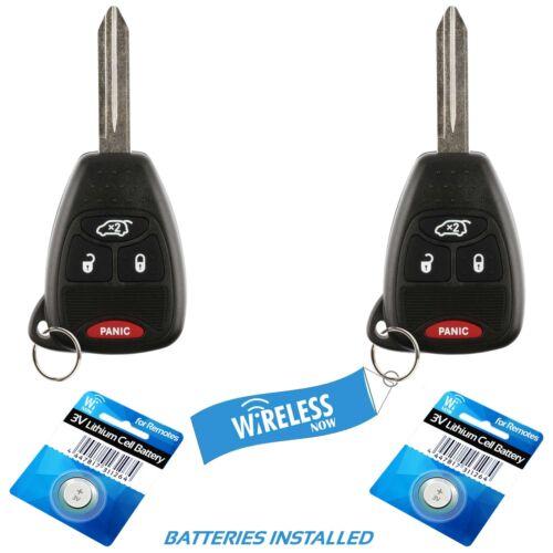 2 Car Remote Key Fob For 2006 2007 2008 2009 2011 2012 2013 Dodge Durango