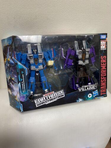 Transformers Earthrise Seekers SKYWARP /& Foudre Target US Vendeur dans la main