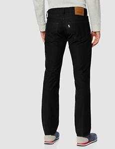 Levis Vaqueros Hombre 511 Pantalones Entallados Caviar Negro Cable Pana Ebay