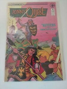 JONNY QUEST #10 (1986 COMICO Comics) Book