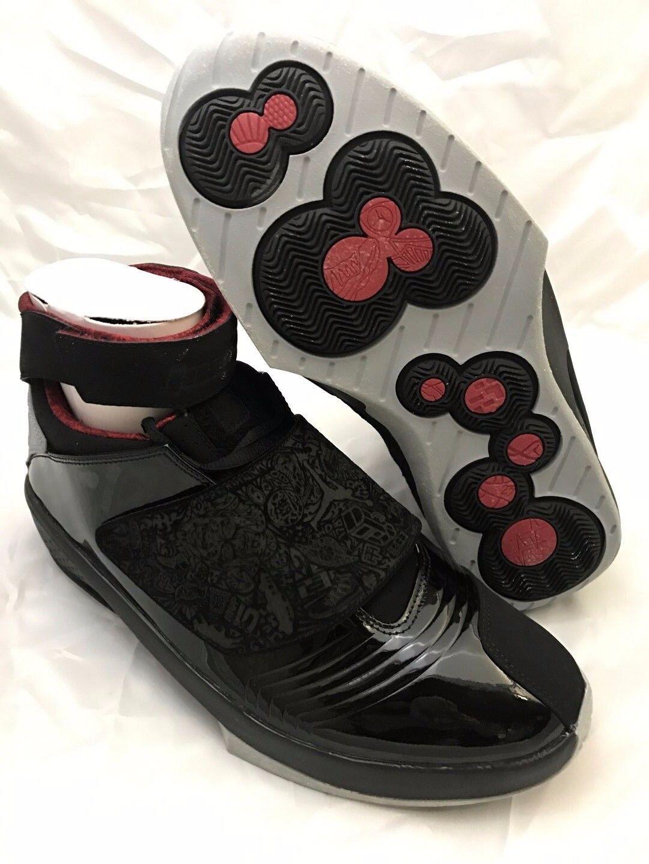NEW DS Nike Air Jordan XX (20) 2005 OG Black Stealth Red 2005 (20) Size 11 Mens 310455 001 5aa7f7
