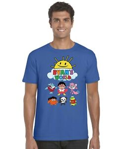 Ryans-World-Kids-T-Shirt-Ryans-Toy-Review-Tee-Top-Ages-3-13