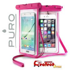 PURO Custodia Subacquea Waterproof Impermeabile Per iPhone 5 5S SE 6 6S ROSA
