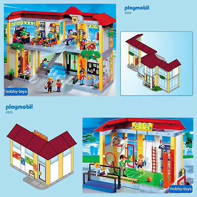 Playmobil Pièce de gymnase playmobil du set 4325 vitre