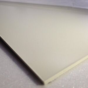 1mm White Smooth ABS Sheet 4 SIZES TO CHOOSE Acrylonitrile Butadiene Styrene