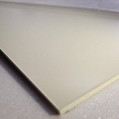 2.5mm White Smooth ABS Sheet 4 SIZES TO CHOOSE Acrylonitrile Butadiene Styrene