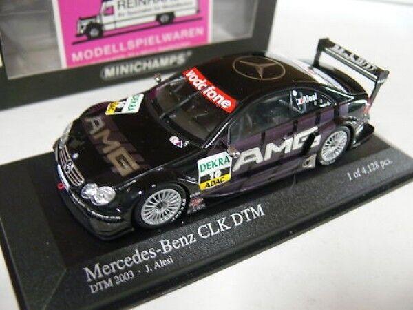 1 43 Minichamps MB CLK DTM 2003 J. ALESI  10 Team AMG 400033310