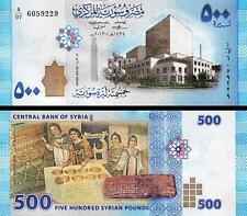 SYRIA 500 POUNDS 2013 (2014) UNC P.NEW