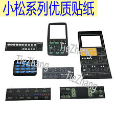 Komatsu 5 6 7 8 Radio Air Conditioning Panel Instrument Case Display Stick Q Zx