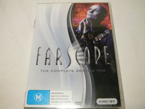 """1 of 1 - FARSCAPE THE COMPLETE SEASON TWO, SCI FI 6 DVDS, PAL """"PREOWNED"""" AUZ SELLER"""