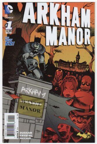 Arkham Manor #1 Batman New 52 DC Comic 1st Print 2014 NM ships in t-folder